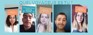 Screen de vidéos faites par la team wgg - Quel type de voyageur sont-ils ?