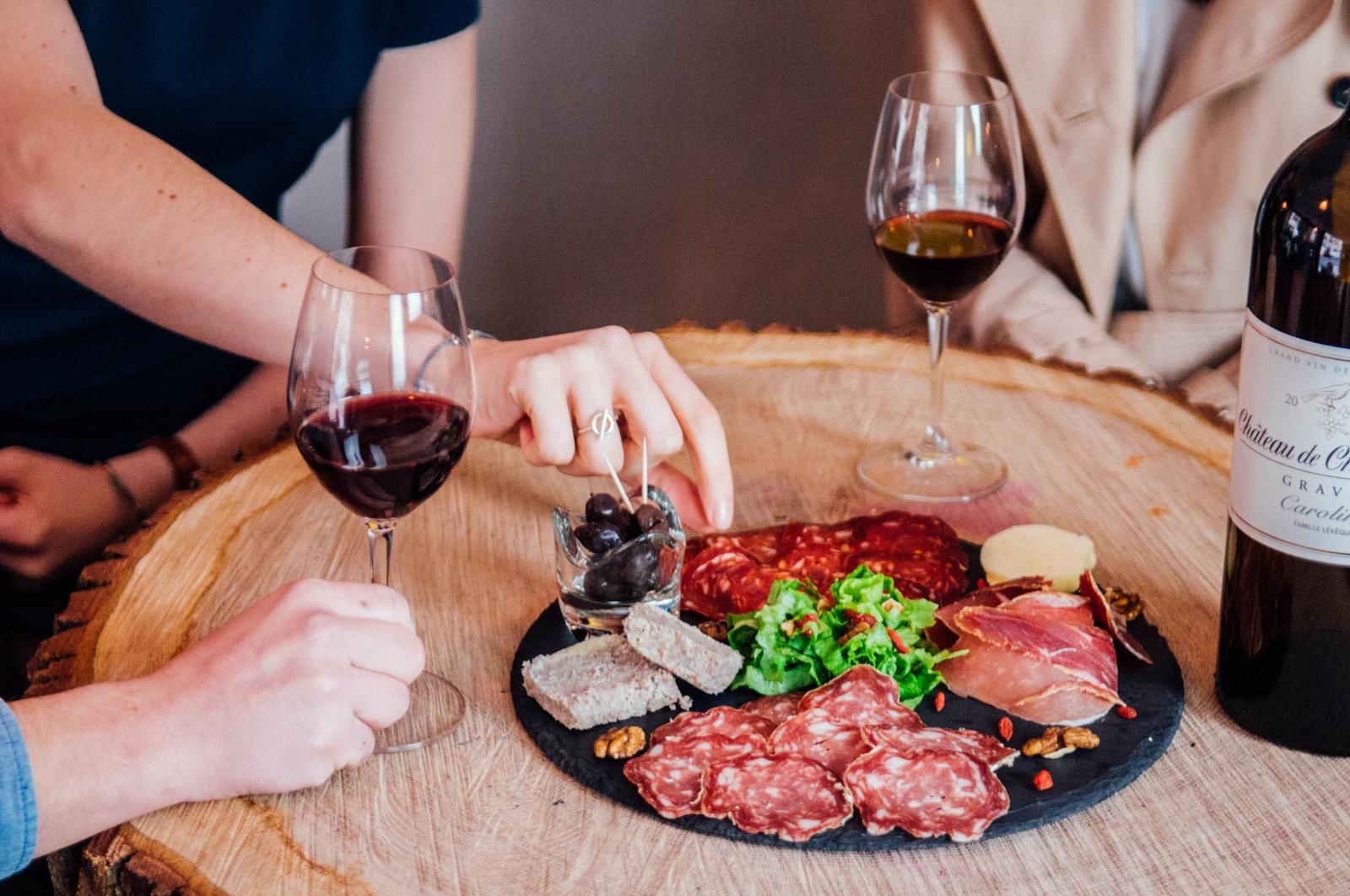 metropolitain bar à vin bordeaux