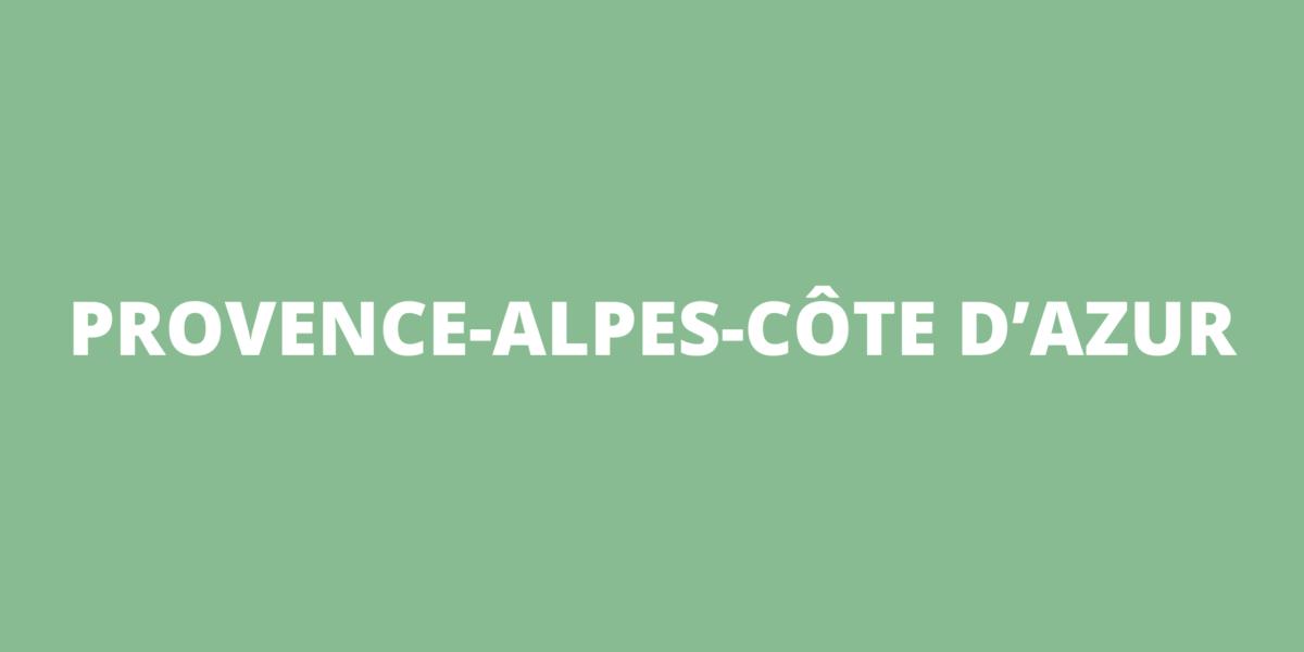 Aides COVID-19 Provence-Alpes-Côte d'Azur