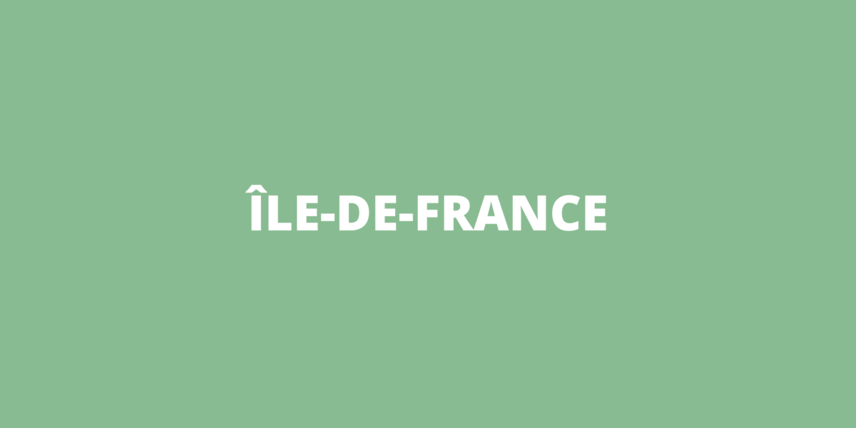 Aides COVID-19 Ile-de-France