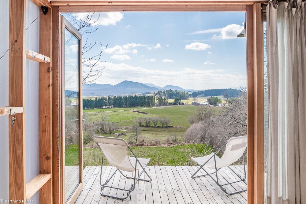 Hébergement écologique vacances famille Auvergne