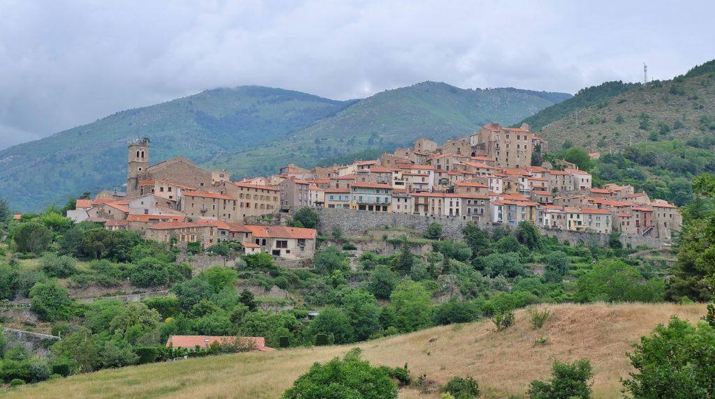 Village de montagne Mosset Pyrénées