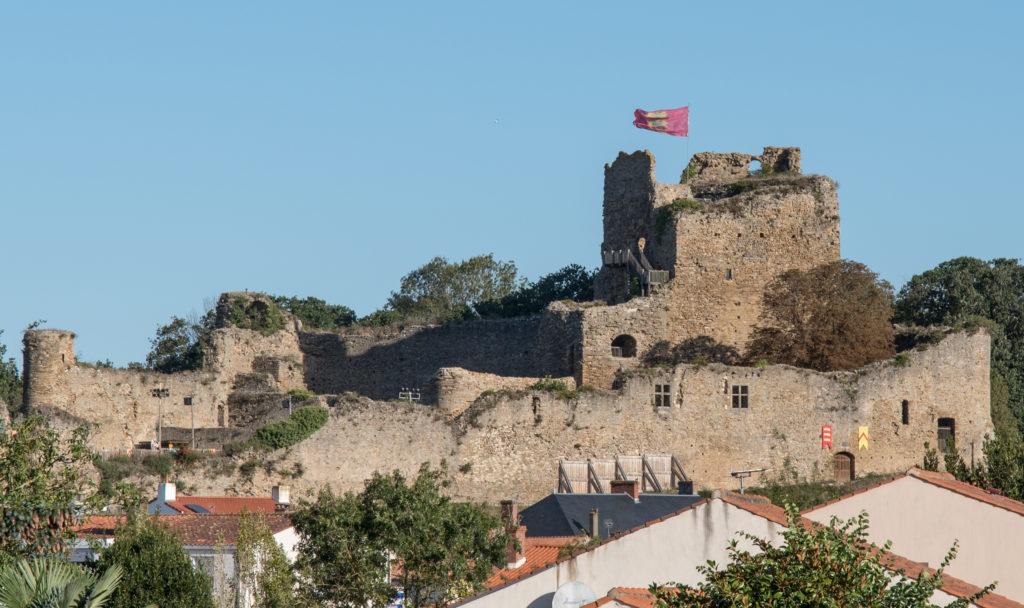 Chateau de Talmont St Hillaire