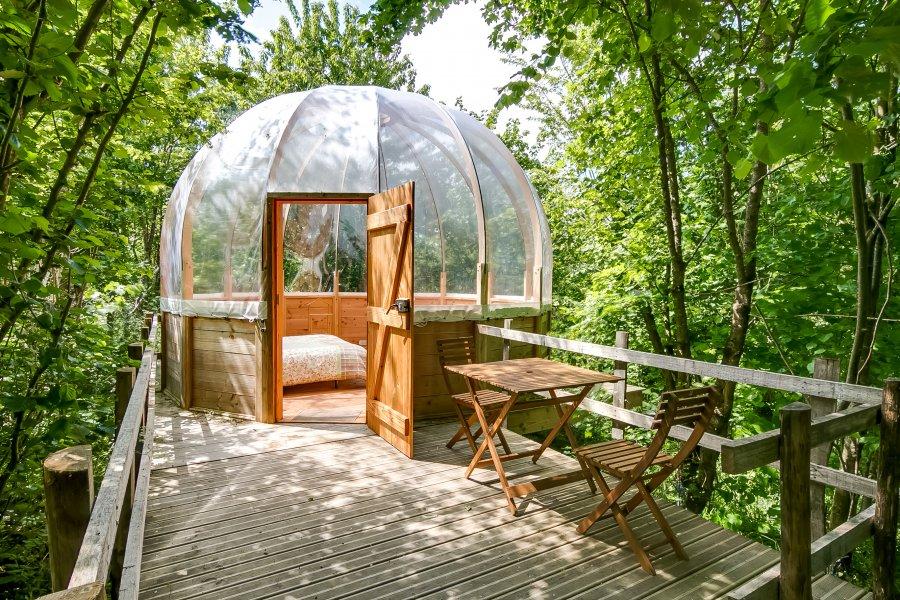 Visiter la Vendée- La cabane bulle